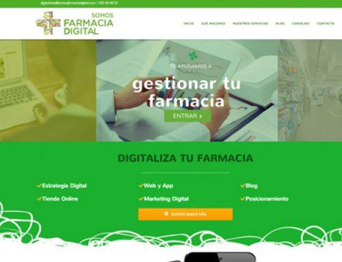 Somos Farmacia Digital – Logotipo y Diseño web